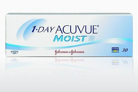 Φακοί επαφής Johnson & Johnson 1 DAY ACUVUE MOIST 1DM-90P-REV