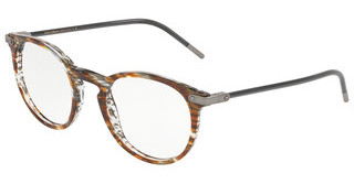 Dolce & Gabbana DG3303 3221 STRIPED BROWN