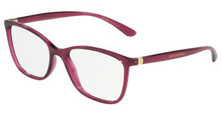 Dolce & Gabbana DG5026 1754 TRANSPARENT BLACK CHERRY