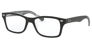 Ray-Ban Junior RY1531 3803 BLACK ON TEXTURE GREY BLACK