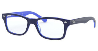 Ray-Ban Junior RY1531 3839 TOP OPAL BLUE/TRANSP LIGHT BLU