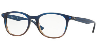 Ray-Ban RX5356 5765 GRADIENT BLUE ON STRIPPED GREY