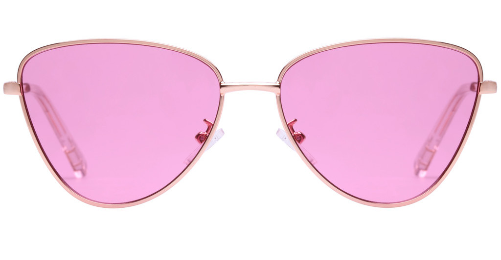 Le Specs   ECHO LTD EDT LSP1702152 PINK TINTBRIGHT GOLD