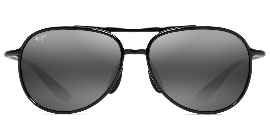 Maui Jim   Alelele Bridge 438-02 Neutral GreyGloss Black