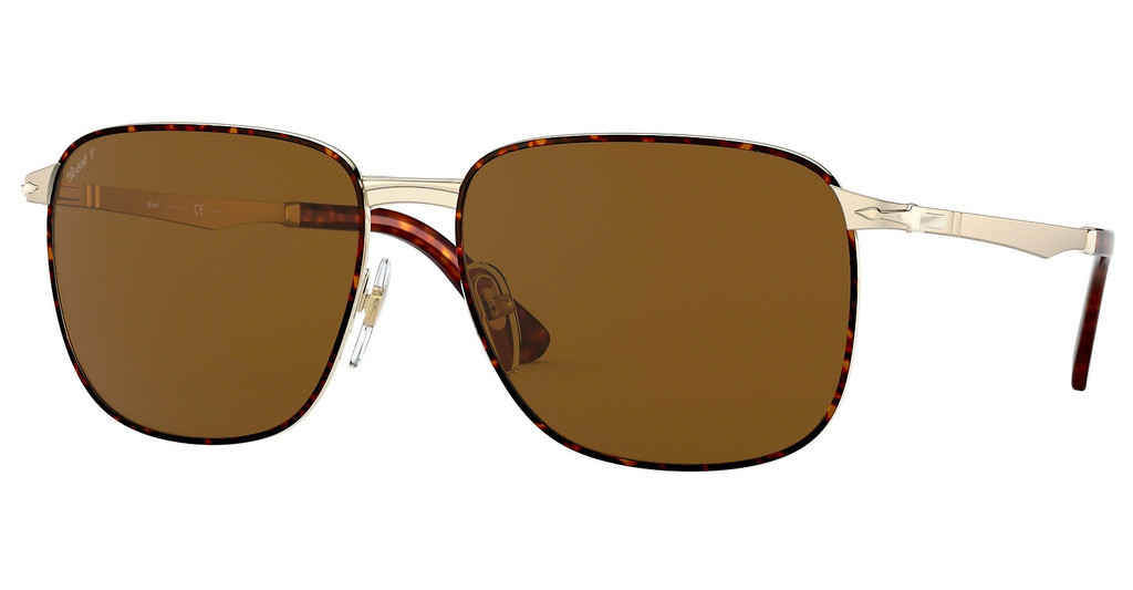 Persol   PO2463S 107557 BROWN POLARGOLD/HAVANA