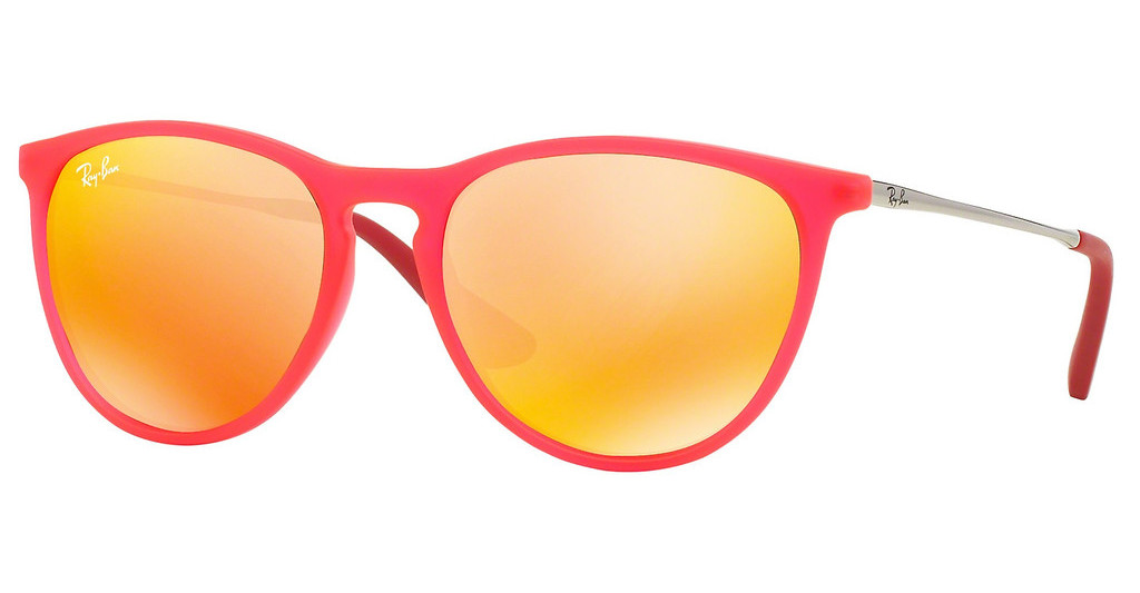 Ray-Ban Junior   RJ9060S 70096Q BROWN MIRROR ORANGEFUXIA FLUO TRASP RUBBER