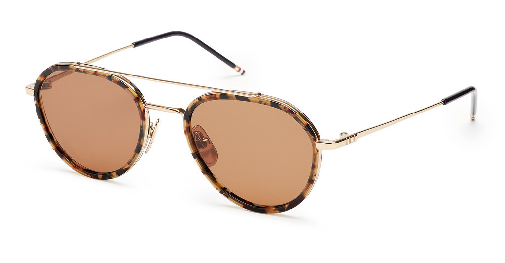 Thom Browne   TB-801 H Dark Brown - ARTokyo Tortoise - 12K Gold