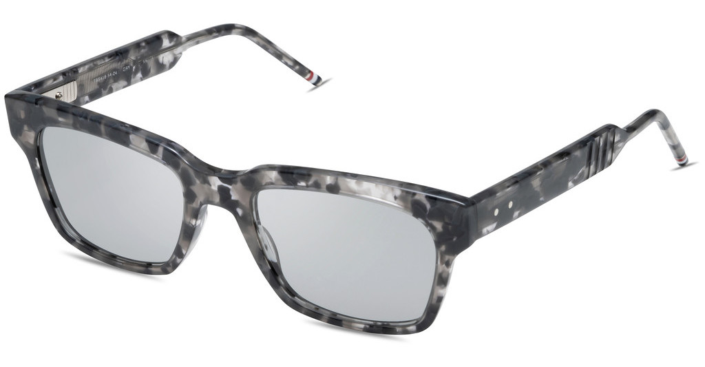Thom Browne   TBS418 04 Medium Grey - ARGrey Tortoise