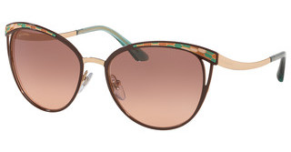 Bvlgari BV6083 201413 PINK GRADIENT DARK BROWNBROWN/PINK GOLD