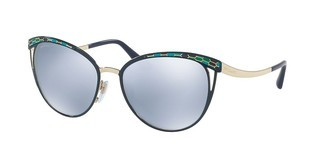 Bvlgari BV6083 20206J BLUE MIRROR WHITEBLUE/PALE GOLD