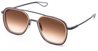 DITA DTS-103 03 Dark Brown to Clear - ARBlack Iron - Rose Gold lens rims