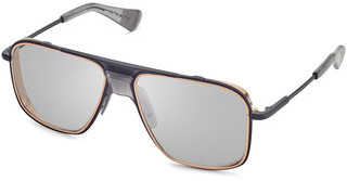 DITA DTS-116 03 Medium Grey - ARBlack Iron - Rose Gold lens rims - Matte Crystal Grey