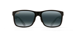 Maui Jim Red Sands 432-2M20 Neutrales GrauMattes Schwarz