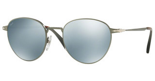 Persol PO2445S 105830 LIGHT GREEN MIRROR SILVERDEMI GLOSS GUNMETAL