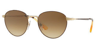 Persol PO2445S 107551 CLEAR GRADIENT BROWNHAVANA GOLD