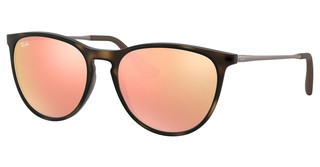 Ray-Ban Junior RJ9060S 70062Y LIGHT BROWN MIRROR PINKHAVANA RUBBER