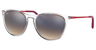 Ray-Ban Junior RJ9060S 7032B8 BROWN GRAD DARK BROWN MIR SILVTRANSPARENT