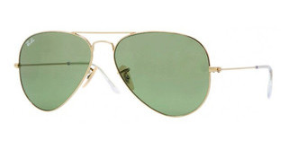 Ray-Ban RB3025 001/14 GOLD LIGHT GREEN