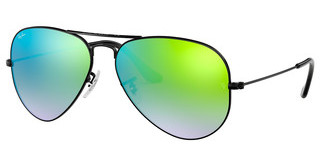 Ray-Ban RB3025 002/4J MIRROR GRADIENT GREENSHINY BLACK