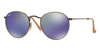 Ray-Ban RB3447 167/68 BLUE MIRRORDEMIGLOS BRUSCHED BRONZE