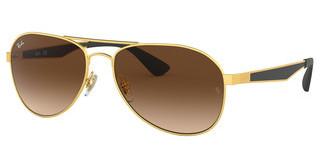 Ray-Ban RB3549 112/13 GRADIENT BROWNMATTE GOLD