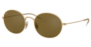 Ray-Ban RB3594 901373 DARK BROWNRUBBER GOLD