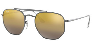Ray-Ban RB3648 004/I3 BROWN MIRROR SILVERGUNMETAL