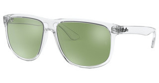 Ray-Ban RB4147 632530 GREEN FLASH SILVERTRASPARENT