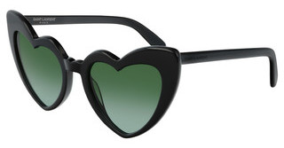 Saint Laurent SL 181 LOULOU 007 GREENBLACK