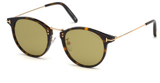 Tom Ford FT0673 52N grünhavanna dunkel