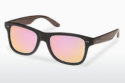 Γυαλιά ηλίου Wood Fellas Lehel (10757 rosewood/black/rose)